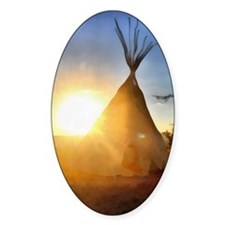 Tee Pee Painting Decal