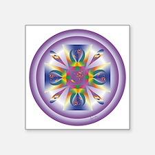 "AURORA-OM copy Square Sticker 3"" x 3"""
