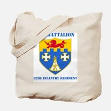 2-12 IN RGT WITH TEXT Tote Bag