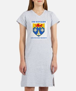 2-12 IN RGT WITH TEXT Women's Nightshirt
