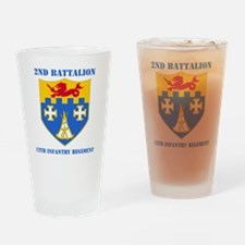 2-12 IN RGT WITH TEXT Drinking Glass