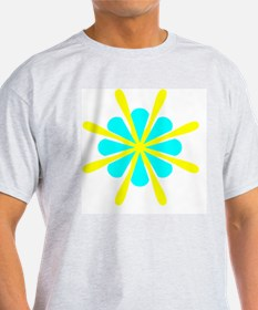 Family Crest Blue Yellow 21 T-Shirt