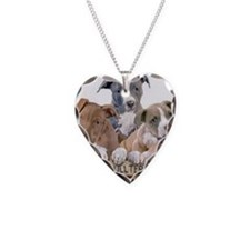 A2351C-md Necklace Heart Charm