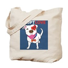 Adopt Love Tote Bag