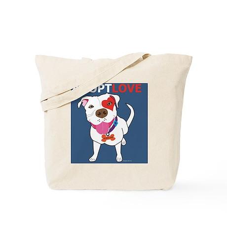Adopt Love Tote Bag