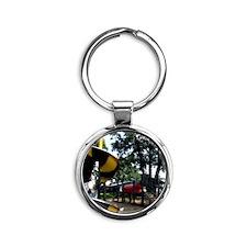 010basic Round Keychain
