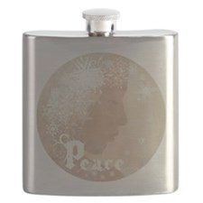 peace water angel rondo b4L Flask