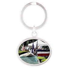 06basic Oval Keychain