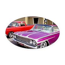 08basic Oval Car Magnet