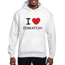 I love zebrafish Hoodie