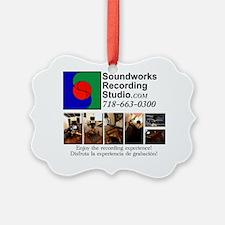 LogoPhotosForYogaMattWithLetters Ornament