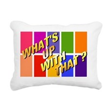 WUWTpng Rectangular Canvas Pillow