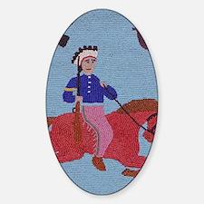 WallaWallaIndian79 Sticker (Oval)