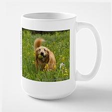 Golden Retriever Mug: Good Morning! Mugs