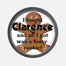 clarence cookie copy Wall Clock