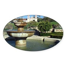 Fountain by Rose Garden and Mission Decal