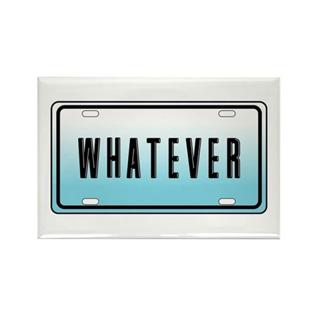 Whatever Rectangle Magnet (100 pack)