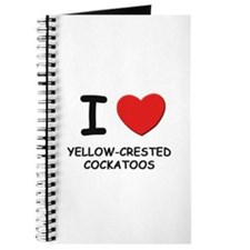 I love yellow-crested cockatoos Journal