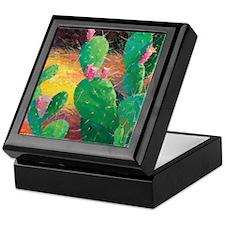Prickly Pear Tile Keepsake Box