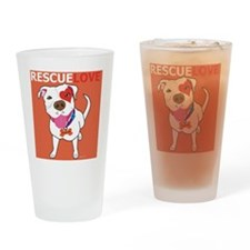 Rescue Love Drinking Glass