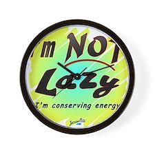 Lazy2 Wall Clock