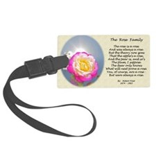 Robert Frost Poetry Poster, The  Luggage Tag