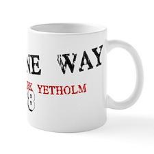 pennineway slant Small Mug