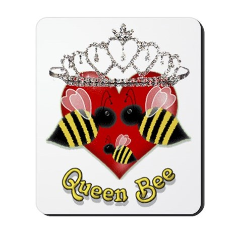 queen bee.gif Mousepad