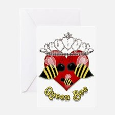 queen bee.gif Greeting Card