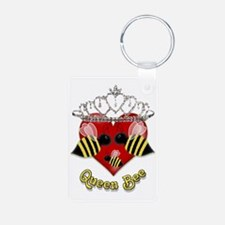 queen bee.gif Keychains