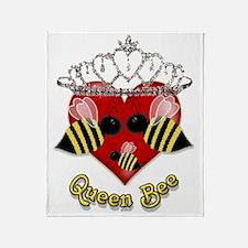 queen bee.gif Throw Blanket