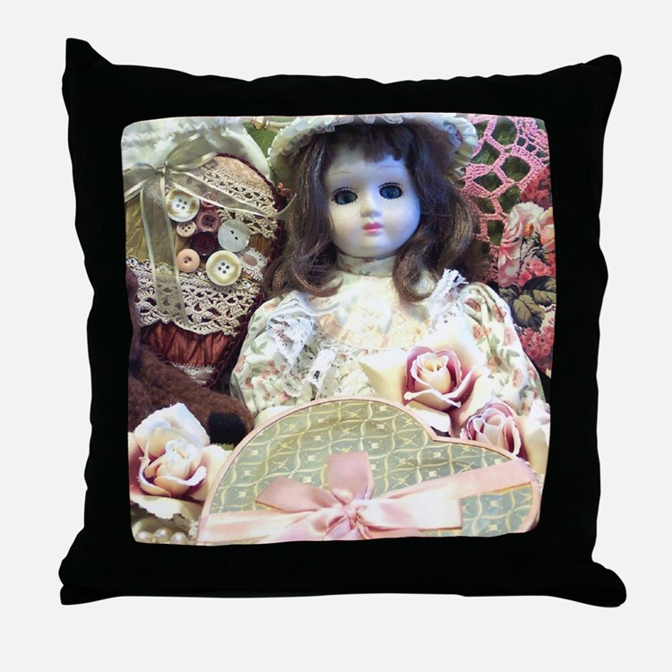How To Make A Doll Decorative Pillow : Country Doll Pillows, Country Doll Throw Pillows & Decorative Couch Pillows