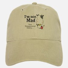Disappointed Cow Baseball Baseball Cap