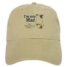Disappointed Cow Baseball Cap