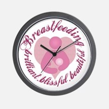 breastfeeding-brilliant-beautiful Wall Clock