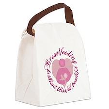 breastfeeding-brilliant-beautiful Canvas Lunch Bag