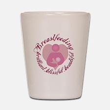 breastfeeding-brilliant-beautiful Shot Glass