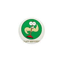Buff Brooms Mini Button