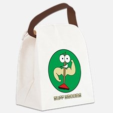 Buff Brooms Canvas Lunch Bag