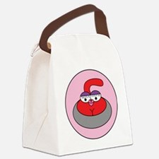 Red Hot Rocks (NO WORDS) Canvas Lunch Bag