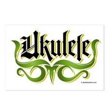 Ukulele-Gothic Postcards (Package of 8)