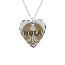 NOLA Necklace Heart Charm