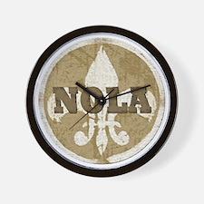 NOLA Wall Clock
