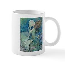 Art Deco Art Nouveau Mermaid With Pearl Pin Up Mug