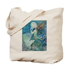 Art Deco Art Nouveau Mermaid With Pearl Pin Up Tot