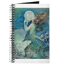 Art Deco Art Nouveau Mermaid With Pearl Pin Up Jou