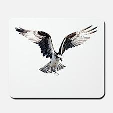 Hunting osprey Mousepad