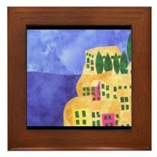 cinque-terre Framed Tile