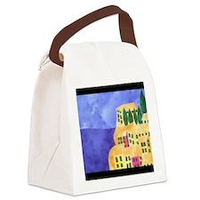 cinque-terre Canvas Lunch Bag