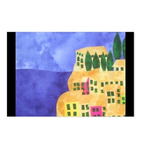 cinque-terre Postcards (Package of 8)